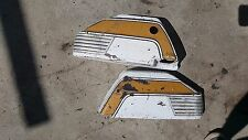 1973 Suzuki GT250 side cover panel left right