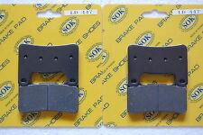 FRONT&REAR BRAKE PADS for SUZUKI GSX-R GSXR 750 1000, 2004-2005 GSXR600 GSXR750