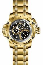 Invicta Para hombres 30380 las fuerzas de la coalición multifunción de cuarzo Reloj Negro, Oro Cuadrante