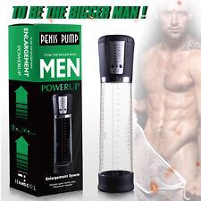 Mens Electric Beginner Penis Vacuum Pump Enlarger Enlargement Male Enhancer Tool