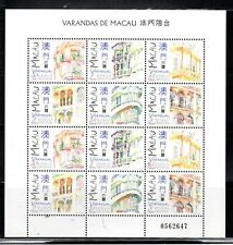 CHINA MACAU STAMPS MINT NEVER HINGED SOUVENIR SHEET    LOT  4507