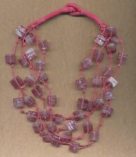 Glass Pink Fashion Jewellery