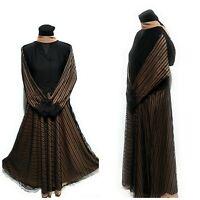 Femme Fermé avant Parapluie Robe Saoudien Long Abaya Farasha Jilbab Burka