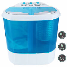 Mini Portable RV Dorm Compact 8-9lbs Washing Machine Washer Spin Dryer Laundry