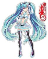 Vocaloid Racing Miku Hatsune Anime Car Window Bike Decal Sticker 040