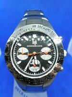 Orologio Watch Lip Cronografo Made Francia Acciaio Braccialetto Originale Sport