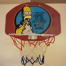 OVER THE DOOR INDOOR BASKETBALL HOOP NET STANDARD CLOSET BEDROOM BASKET BALL