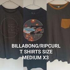 Billabong t shirt Medium X3 (read desc)