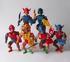 Sungold Galaxy Warriors End of Time Action Figures x6 - MotU He-Man KO Bootleg