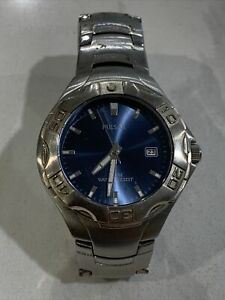 Ladies Pulsar By Seiko Divers Watch With Rotating Bezel & Date 36mm Case