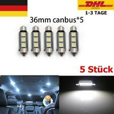 Canbus 36mm LED Soffitte 3 5050 SMD Innenraum Soffite Beleuchtung Xenon weiß*5