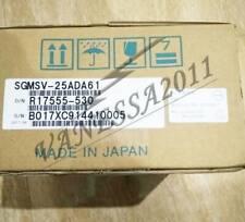 1PCS Yaskawa SGMSV-25ADA61 servo motor New In Box