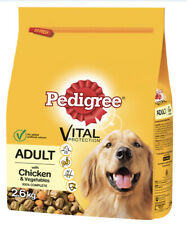 3 Packs Pedigree Dry Vital Protection With Chicken And Vegetable 7.8kg In Total