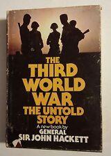 020 The Third World War The Untold Story Sir John Hackett Hardback Book DJ