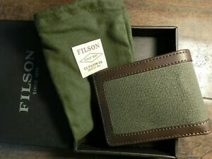 FILSON Outfitter Wallet Otter Green #20187879