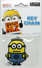 BRAND NEW Despicable Me Dave Minion Rubber Keychain ~ Officially Licensed