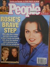 Autographed ROSIE O'DONNELL (only) Signed People Magazine   Kelli Carpenter