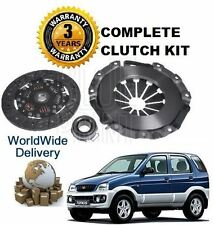 FOR DAIHATSU TERIOS 1.3i 1997-2000 NEW CLUTCH KIT COMPLETE *OE QUALITY*