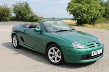 2003 MG MGF 1.8TF IN BRITISH RACING GREEN WITH FULL BLACK LEATHER ONLY 44K MILES