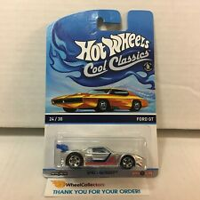 Ford GT * Silver * Hot Wheels Cool Classics * D15