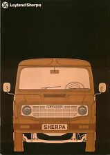 Austin Morris Leyland Sherpa Van Pickup Late 1970s Original IRISH Brochure SHB2E