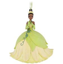 Disney Parks Princess & the Frog Tiana w/ Frog Glitter Dress Ornament Christmas