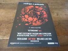RODRIGO Y GABRIELA - 9 dead alive !!! Publicité de magazine / Advert !!!