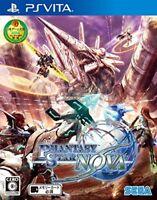 Used PS VITA Phantasy Star Nova Region Free Japan Import