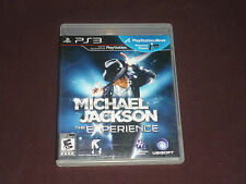 The Michael Jackson Experience  Playstation Move Edition (Sony PS3) COMPLETE