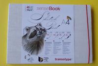 Sense Libro Sketchpad Libro Del Bosquejo A4 180g 40 Hoja Transotype Marcador