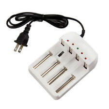 4-Slot Charger for Rechargeable Li-ion Battery 26650 18650 14500 CR123A 16340