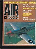 Air Classics Magazine December 1973 Amphibious Gliders P-26 Kawasaki Swallow