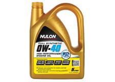 Nulon High Peformance Full Synthetic Car Engine Oil 0W-40 5 Litre