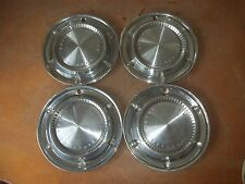"1961 61 Pontiac Bonneville Hubcap Rim Wheel Cover Hub Cap 14"" OEM USED Y5 SET 4"