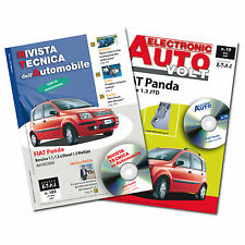 1 Manuale tecnico riparazione/manutenzione + 1 Manuale Diagnosi Auto FIAT Panda