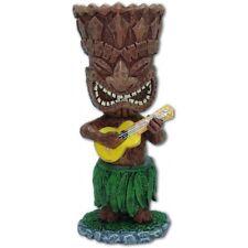 "New Hawaiian Hawaii Miniature Dashboard Mini Tiki w/Ukulele Doll  4"" # 40832"