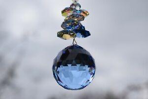 Genuine Large Swarovski Hanging Crystal*  Radiant * Rainbows * Suncatcher *
