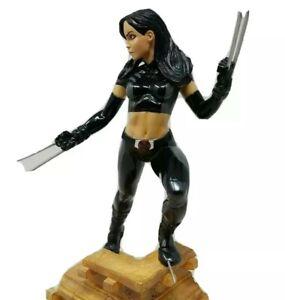 X-23 X-Force Kotobukiya Fine Art Statue MIB Wolverine 762/868 1:6 both heads