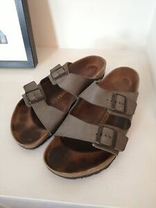 mens birkenstock sandals size 12, grey, brand new, only tried on,