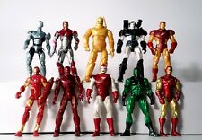 "Marvel Universe 3.75"" Lot of 10 Iron Man Variants Action Figure Hasbro"