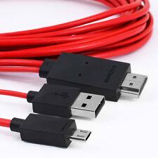 Micro USB al adaptador de cable MHL HDMI HDTV para tablet Samsung Galaxy Teléfonos
