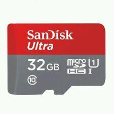 SanDisk 32 Go Micro SD SDHC Ultra Carte mémoire UHS 1 80 Mo classe 10 inc adaptation