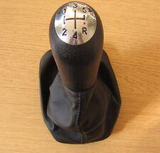 Gear shift knob 5 vitesse + soufflet renault clio mk3 3 iii fluence