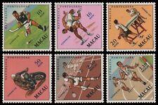 Macau 1962 - Mi-Nr. 422-427 ** - MNH - Sport