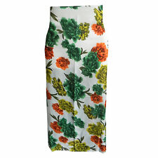 Pareo flores 170 x 100 cm verde amarillo naranja sarong poliéster vestido playa
