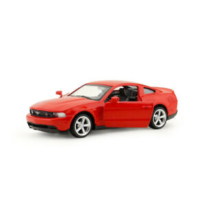 1/43 Scale Ford Mustang GT Model Car Metal Diecast Gift Toy Vehicle Kids Red New