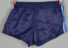 ADIDAS Glanz Nylon Shorts!!!  Vintage Short Sporthose Dunkelblau-Gr.:M-5  (1240)