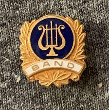 Coat Pin Vintage Band Lapel