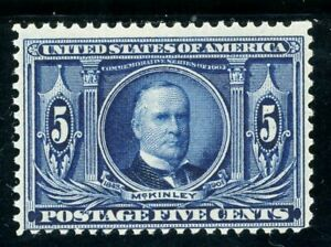 USAstamps Unused FVF US 1904 Louisiana Purchase Scott 326 OG MVLH