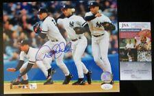 DEREK JETER NEW YORK YANKEES SIGNED 8x10 PHOTO JSA COA DD11703